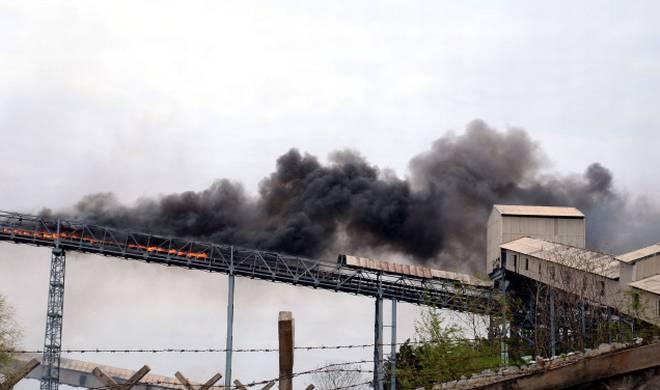 Conveyor Terbakar